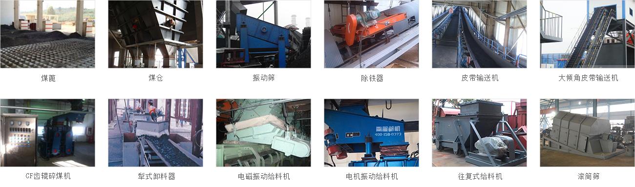 输煤破碎系统主要设备